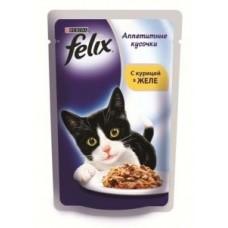 Felix с курицей в желе вакуумная упаковка, 85гр. (05101)