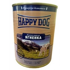 Happy Dog Консервы для собак с нежной вырезкой ягненка 350 гр. (10611)
