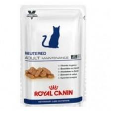 Royal Canin NEUTERED ADULT MAINTENANCE Влажный корм для кастрированных / стерилизованных котов и кошек с момента операции до 7 лет, 100гр.