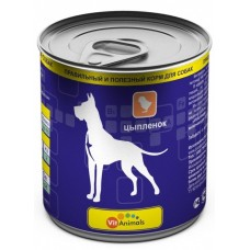 ВитЭнималс консервы для собак Цыпленок 750гр. (53883)