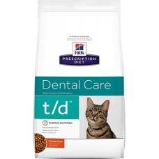 Hill's Prescription Diet DENTAL CARE T/D для поддержания гигиены полости рта, 1.5кг (C25096)