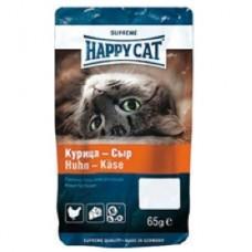 Хэппи Кэт печенье для кошек курица/сыр, 50гр. (89597)