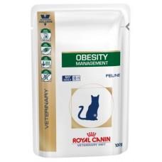 Royal Canin OBESITY MANAGEMENT Влажный корм для кошек при ожирении, 100гр.