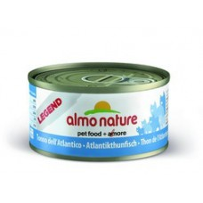 Almo Nature  Legend консервы для кошек с атлантическим Тунцом 70гр. (04076)