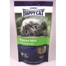 Хэппи Кэт подушечки для кошек кошачья мята, 50гр. (37809)