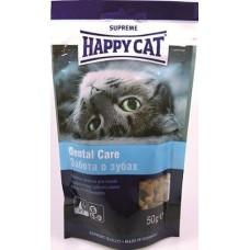 Хэппи Кэт печенье для кошек профилактика зубного камня, 50гр.(37533)