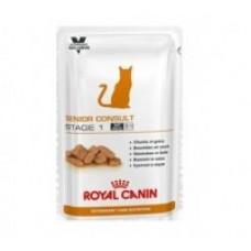 Royal Canin SENIOR CONSULT STAGE 1 Влажный корм для котов и кошек старше 7 лет, не имеющих видимых признаков старения, 100гр.