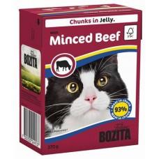 Bozita Feline Minced Beef Кусочки в желе для кошек с говядиной , 370 гр. (P22424)