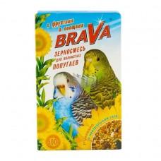 Брава Корм для яволнистых попугаев Фрукты+овощи 500гр. (27520)
