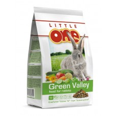Little One корм из разнотравья для кроликов Зеленая долина 750г