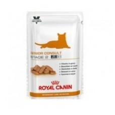Royal Canin SENIOR CONSULT STAGE 2 Влажный корм для котов и кошек старше 7 лет, имеющих видимых признаков старения, 100гр.