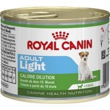 Royal Canin LIGHT ADULT для собак 10мес-8лет, низкокалорийный, 195гр. (P12988)