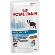 Royal Canin URBAN LIFE JUNIOR для щенков от 2-10мес., живущих в городской среде соус 150г (10623)