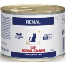 Royal Canin RENAL FELINE Влажный корм для кошек при хронической почечной недостаточности (с курицей), 195гр., паштет (P37769)