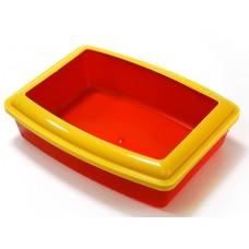 Вака Туалет Глубокий с бортиком 42,5*33*11 см (53945)
