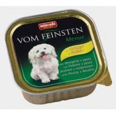 Animonda Vom Feinsten Classic с мясом Домашней птицы и пастой 150 гр. (консервы для взрослых собак) (10284)