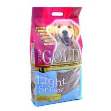 NERO GOLD super premium для пожилых собак:  индейка рис (Senior/Light) 12кг (р10211)