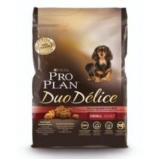 Pro Plan DUO DELICE SMALL & MINI корм для взрослых собак мелких и карликовых пород с лососем и рисом