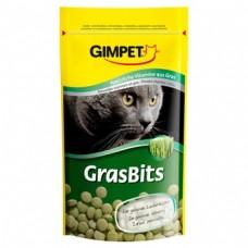 Gimpet Витаминизированные таблетки GrasBits с травкой для кошек, 50гр./85табл. (14272)