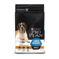 Pro Plan LARGE ROBUST OPTIBALANCE корм для взрослых собак крупных пород мощного телосложения с курицей