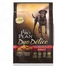 Pro Plan DUO DELICE MEDIUM & LARGE корм для взрослых собак с лососем и рисом