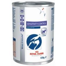 Royal Canin SENSITIVITY CONTROL для собак при пищевой непереносимости, 420гр.(12122 )