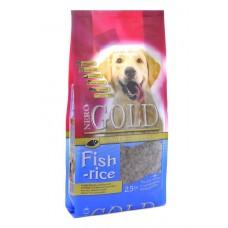 NERO GOLD super premium для взрослых собак: Рыбный коктейль, рис и овощи (Fish&Rice 24/13)