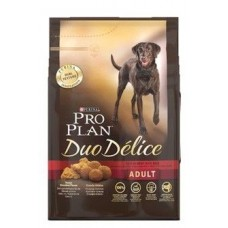 Pro Plan DUO DELICE MEDIUM & LARGE корм для взрослых собак с говядиной и рисом