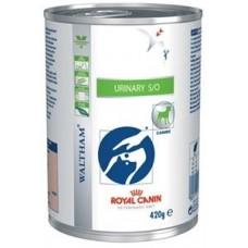 Royal Canin URINARY S/O для собак, лечение МКБ, 410гр. (P11809)