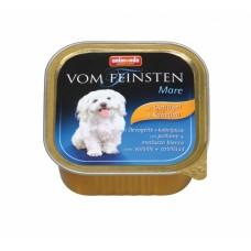 Animonda Vom Feinsten Menue с мясом домашней птицы и и треской 150 гр. (консервы для взрослых собак) (18447)