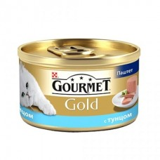 Гурмет Голд для кошек паштет с тунцом, 85гр. (05236)