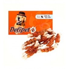 DeliPet лакомство для собак кальциевая косточка, 100 гр. (0352)