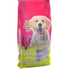 NERO GOLD super premium Для взрослых собак с Олениной и сладким картофелем (Venison&Potato 20/10)
