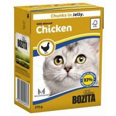 Bozita Feline Minced Chicken Кусочки в желе с курицей для кошек, 370 гр. (P22721)