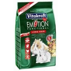 Витакрафт EMOTION LONG HAIR Корм основной для кроликов 600гр. (25590)