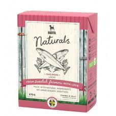 BOZITA  Naturals консервы для собак кусочки в желе с Лососем 370г (P19854)