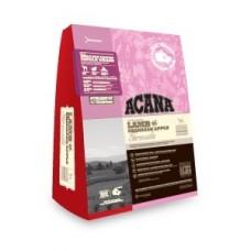 Acana Single Grass Fed Lamb беззерновой корм для собак Ягненок и Яблоко