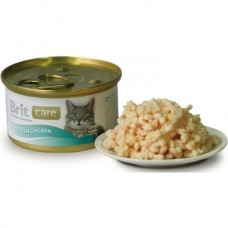 Brit (Брит) Care Cat Kitten Консервы для котят с цыпленком, 80гр. (05118)
