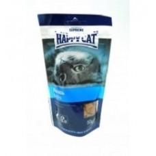 Хэппи Кэт подушечки для кошек с лососем, 50гр. (89601)