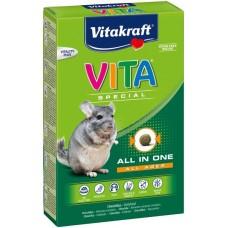 Витакрафт VITA SPECIAL ALL AGES Корм основной для шиншилл 600г (25847)