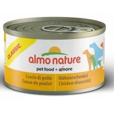 Almo Nature Консервы для Собак Куриные Бедрышки (Classic Chicken Drumstick) (10357)