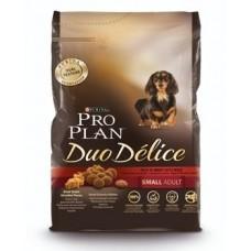 Pro Plan DUO DELICE SMALL & MINI корм для взрослых собак мелких и карликовых пород с говядиной и рисом