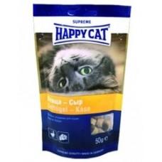 Хэппи Кэт угощение для кошек птица/сыр, 50гр. (37535)