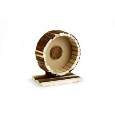 Beeztees Колесо для хомяка на подставке деревянное, 20см. (810852)