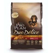 Pro Plan DUO DELICE SMALL & MINI корм для взрослых собак мелких и карликовых пород с курицей и рисом