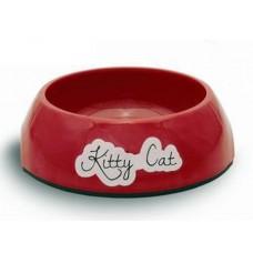 Beeztees Kitty Миска для кошек меламин нескользящая 200 мл 14*4,5 см