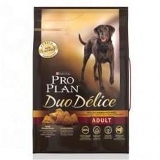 Pro Plan DUO DELICE MEDIUM & LARGE корм для взрослых собак с курицей и рисом