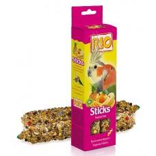 RIO. Палочки для средних попугаев с тропическими фруктами, 150гр. (39028)