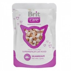 Brit Care Cat Pouches Seabream консервы для кошек, Морской лещ, 80гр. (05159)
