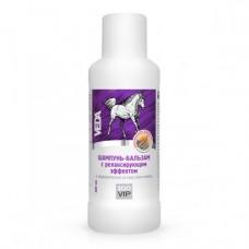 Зоовип Шампунь-бальзам для лошадей с релаксирующим эффектом с коллагеном и маслом мяты 500мл. (12429)